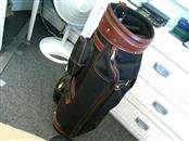 SIGNATURE LEATHER GOLF BAG